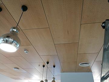 Потолочные панели – кромка Vector, шпон клёна