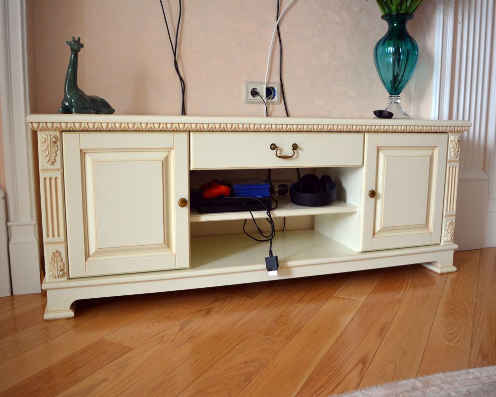 Мебель для гостиной в классическом стиле из МДФ