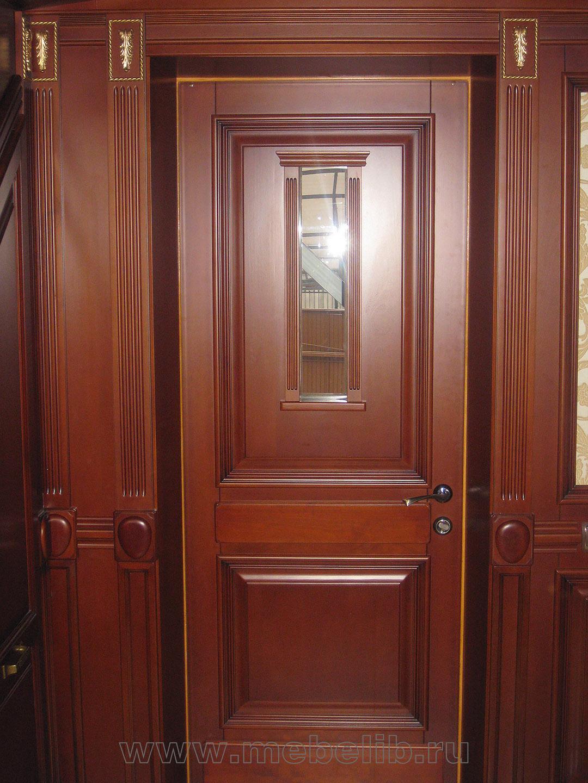 Классические двери из массива бука