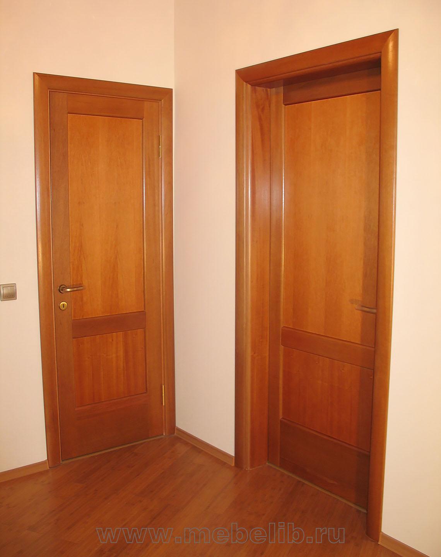 Межкомнатные двери из массива Анегри